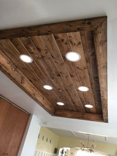 Kitchen Ceiling Light Fixtures Idea Luxury Replaced Recessed Fluorescent Lights In My Kitchen Low Ceiling Lighting, Kitchen Ceiling Lights, Ceiling Ideas, Kitchen Ceilings, House Lighting, Wall Lights, Can Lights In Kitchen, Fluorescent Kitchen Lights, Kitchen Ceiling Design