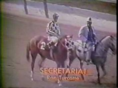 Secretariat A Moment of Eternity.....the best video I have found on Youtube of this most spectacular race.  I saw this on our black and white TV when I was 10 years old  I was on my feet and screaming by the end of the race.  Unforgettable!