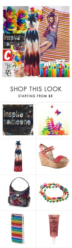 """""""Blurring the lines"""" by valc5 ❤ liked on Polyvore featuring Warehouse, ALDO, Rosetti, One Button, P.S. from Aéropostale, Napoleon Perdis and Heidi Swapp"""