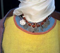 Women's necklace used in Ukraine (Kievan Rus') in the 10th century. Reconstruction