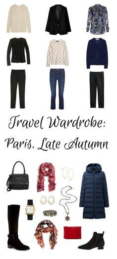 Travel Wardrobe Planning: Paris In Late Autumn