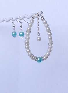 Check out this item in my Etsy shop https://www.etsy.com/uk/listing/236648849/pearl-bracelet-earring-set-pearl-set