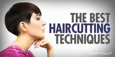 Catering To Curly Hair - The How To's of Cutting, Styling and Maintaining Curls - Short Bob Haircut Thick Curly Hair, Curly Hair With Bangs, Curly Hair Styles, Messy Hair, Hair Cutting Videos, Hair Cutting Techniques, Cutting Hair, Face Framing Layers, How To Cut Bangs