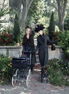 """""""Paris Je T'aime"""" shoot  by Steven Meisel, style by Grace Coddington. I adore this picture."""