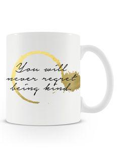 Caneca Be Kind   Uma loja de caneca #frases #quotes #inspiracao #bekind #fofura