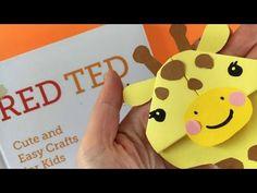 Easy Giraffe Bookmark Corner - Red Ted Art's Blog