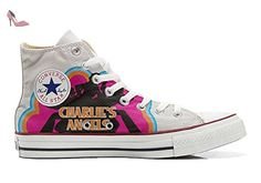 Converse Customized Chaussures Personnalisé et imprimés UNISEX (produit artisanal) Charlies Angels - size EU40 - Chaussures mys (*Partner-Link)