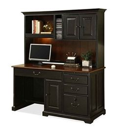 amazoncom bridgeport computer desk w hutch desk with hutch office products chic office desk hutch