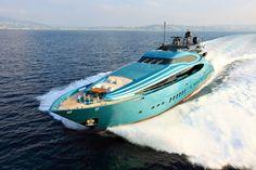 Blue Ice Yacht by Palmer Johnson