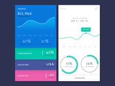Web Analytics App Preview (Static)