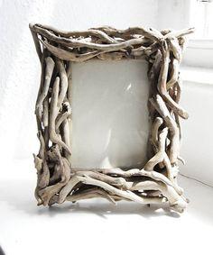 Driftwood photo frame by Karen Miller @ Devon Driftwood Designs - for Wonderwalls?