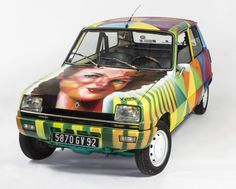 by Kobra | Renault R5 for Perrier's Charity Auction February 4th, 2015. The all profit will go to Red Cross Association - France.