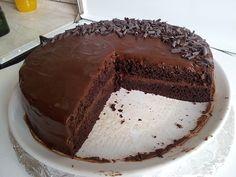 Vypečený den: Čokoládovo-banánový dort