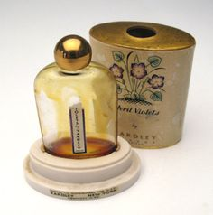 Vintage April Violets by Yardley perfume in by VenusAnMars on Etsy
