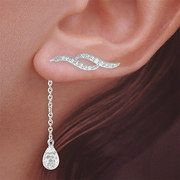 Beautifully designed for everyones ear lobes. These are comfy and not expensive either.
