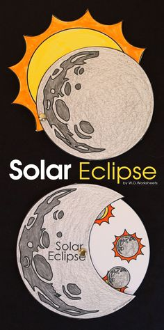 Solar Eclipse worksheets and crafts for the Solar Eclipse 2017