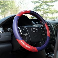 Spider Man Car Steering Wheel Cover UP leather only $28