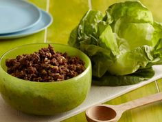 Sunny's Asian Lettuce Wraps come together in under half an hour and feature ingredients from the pantry. Serve the beef mixture in a party-sized bowl and have the lettuce wraps nearby so guests can serve themselves.