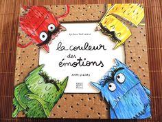 Par mamsdouds dans Notre Biblothèque le Exploitation de l'Album LA COULEUR DES ÉMOTIONS Le monstre des couleurs se sent tout barbouillé aujourd'hui. Ses émotions sont sens dessus dessous ! Il n...