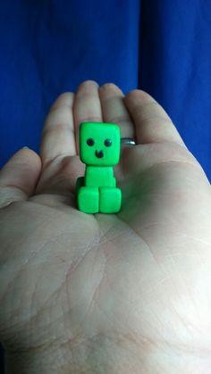 Cutie creeper, polymer clay