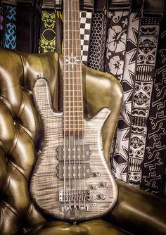 Warwick Streamer Stage I 5 strings Nirvana Black Transparent Satin Passive MEC MM style PU