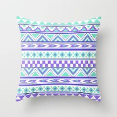 A beautiful tribal pattern with colors of mint green, purple and blue. Art, case, cover, design.