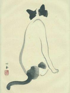 Takeuchi Seihō(竹内 栖鳳, December 20, 1864 - August 23, 1942)