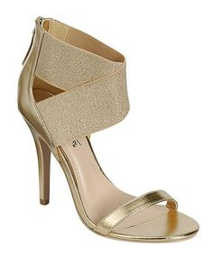 Take a look at this Gold Enzo Sandal by Bamboo on #zulily today! Perfect gold shoes. Very hard to find.