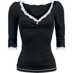 My Soft Shirt 3/4 Arm (Pitkähihainen girlie-paita) - Vive Maria