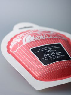 raspberry miffin bakemix   Billerud FibreForm