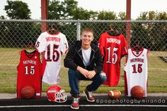 Senior Seniors Boys Jersey Jerseys Football Basketball Pop Photog by … – My CMS Senior Boy Poses, Senior Portrait Poses, Senior Guys, Senior Year, Male Portraits, Senior Session, Baseball Senior Pictures, Senior Pictures Sports, Sports Photos