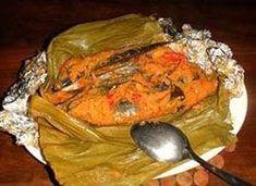 Resep Pepes Ikan Pindang Pedas Seafood Recipes, New Recipes, Cooking Recipes, Healthy Recipes, Healthy Food, Nasi Bakar, Malay Food, Malaysian Food, Indonesian Food