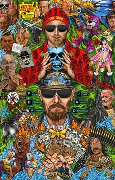 Breaking Bad Walter White Jessie Pinkman 13 X 19 Impressão De Arte Breaking Bad Poster, Breaking Bad Arte, Breaking Bad Tv Series, Breaking Bad Tattoo, Coloriage Lucky Luke, Beaking Bad, Herren Hand Tattoos, Tachisme, Walter White
