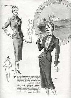 Modes Royale 1954