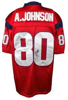 a78a3d75347 Andre Johnson Autographed Jersey - GA - Autographed NFL Jerseys by Sports  Memorabilia.  201.80.