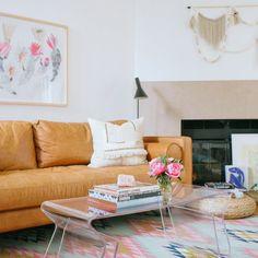 Contemporary Boho Living Room