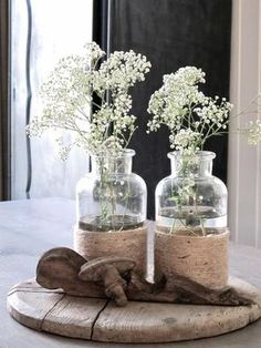 Gypsophila # way # # add, # this # gives # so, n # # … - Einrichtungsstil Decoration Plante, Decoration Table, Deco Floral, Home And Deco, Flower Decorations, Interior Design Living Room, Home And Living, Flower Power, Floral Arrangements