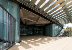 Oshiage Bycycle Parking (押上駅前自転車駐車場) / Architect : Nikken Sekkei (設計:日建設計).