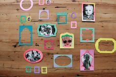 Fotolijstjes voor op je tafel