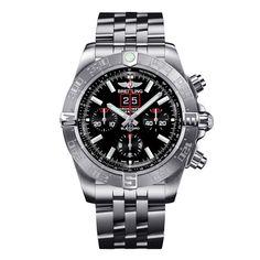 Breitling Chronomat 44 Blackbird Limted Edition Black/Red Dial Watch