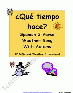 Spanish Weather Song