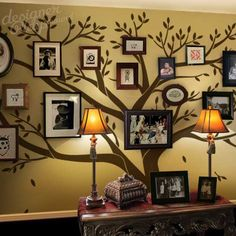 Photo Frame Family Tree Decal