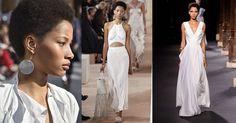 Infine, Lineisy sfila anche nella Paris Fashion Week, la settimana più chic e avant-gard di tutto il circuito. Da sinistra Isabel Marant, Balenciaga e Vionnet  -cosmopolitan.it