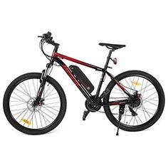 Ancheer 2018 Electric Mountain Bike with Removable LG 36V 8Ah Lithium-Ion Battery for Adults, 26 Inch Electric Mountain Bicycles with Shimano 21 Speed Shifter  Shop www.TheLavenderLilac.com Today.