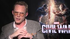 Captain America: Civil War Interview - Paul Bettany and Chadwick Boseman Interview
