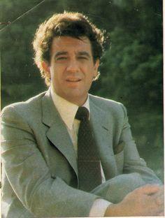 Placido Domingo. Madrid, 1981