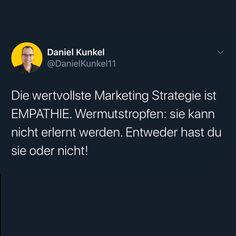 Bist du Marktschreier 📣 ?? Oder willst du aufrichtig Mehrwert liefern und kannst dich in deine Kunden hineinversetzen?  EIN Weg wird dir langfristige Erfolge liefern, der andere nur ein kurzfristiges High!  Was glaubst du welcher es ist❓  Schreib es in die Kommentare ✌🏻 ➖➖➖➖➖➖➖➖➖➖ Mehr zum Thema Selbstständigkeit & Mindset: . 👉 @danielkunkel.official 👉 @danielkunkel.official 👉 @danielkunkel.official . ➖➖➖➖➖➖➖➖➖➖ . 🎟 Hashtags .  #erfolgistkeinglück #mensch #erfolgsmensch… High, Motivation, Instagram, Daily Motivation, Inspiration