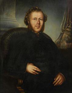REGINALD WALKER, (19th century), Portrait of a Gentleman, Oil on canvas, H 36 x W 28 inches