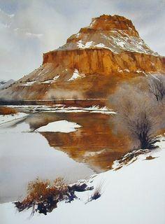 A Zen Moment - Robert Highsmith - watercolor