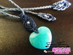 点击查看原图 Macrame Jewelry Tutorial, Macrame Necklace, Washer Necklace, Crochet Necklace, Macrame Design, Micro Macrame, Pendants, Bracelets, Necklaces